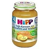 Hipp Früh-Karotten mit Kartoffeln und Lachs, 190g