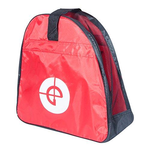Sunhine Home Schlittschuhtasche Skate Tasche Schlittschuhtaschen Skatertasche Inliner Tasche Wasserabweisend Tasche für Skate Schlittschuh Rollschuhe (Rot)