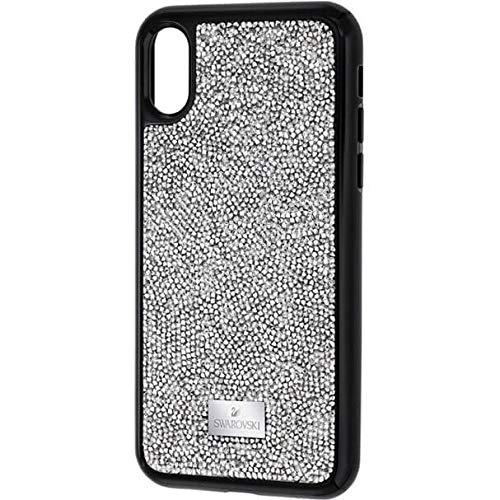 Swarovski Glam Rock Smartphone Etui mit integriertem Bumper, iPhone® X/XS, grau - Swarovski Crystal Iphone Case