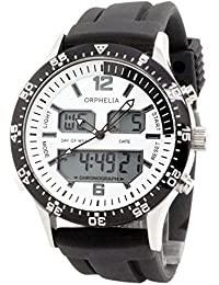 Orphelia Herren-Armbanduhr Analog - Digital Quarz Silikon OR22691314