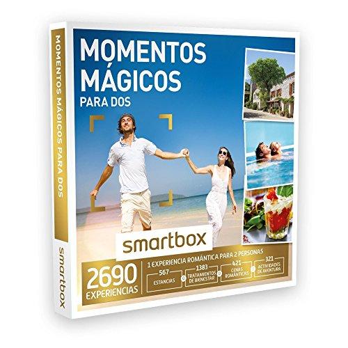 SMARTBOX – Caja Regalo – MOMENTOS MÁGICOS PARA DOS – 2690 experiencias como escapadas, spa y masajes, cenas o actividades de aventura