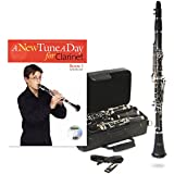 Windsor MI-1003-PK - Kit de clarinete (en si bemol, para nivel principiante), color negro
