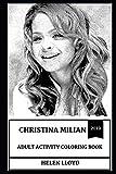 Christina Milian Adult Activity Coloring Book