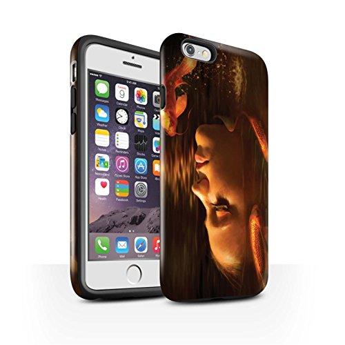 Officiel Elena Dudina Coque / Brillant Robuste Antichoc Etui pour Apple iPhone 6S / Poissons d'Or Design / Agua de Vida Collection Poissons d'Or