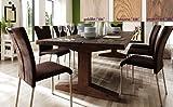Tisch, Esszimmertisch, Eiche gekälkt, massiv, 260x100cm