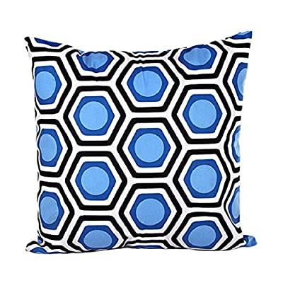 Yistu Pillow Case ,Plush Soft Geometric Shape Sofa Bed Home Decor Pillow Case - inexpensive UK light store.