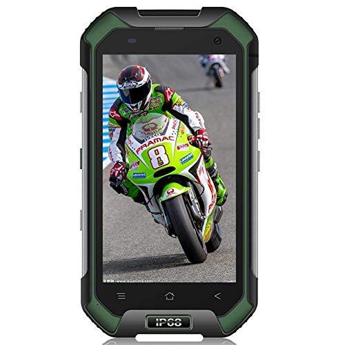 Movil Todoterreno, Blackview BV6000 Teléfonos Libres, IP68 impermeable, a prueba de golpes y polvo, batería 4500 mAh, Octa-core 3GB RAM + 32GB ROM, Android 7.0 Dual SIM Smartphone, 13MP Cámara, 4.7 HD, Wifi, Bluetooth, NFC - Verde
