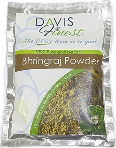 Davis Finest Premium Bhringraj Eclipta Alba Powder - 100% Pure