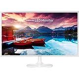 2017 Samsung 32-Inch Full HD 1920 X 1080 Slim Design Monitor With 60 Hz, 16:9, 250 Cd/m2, 5ms, 5000:1, 178°/178°, HMDI, VESA Mount, White