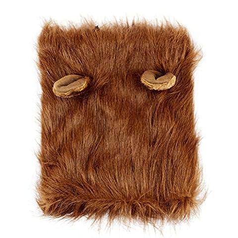 Gros Chien Costumes Pour Halloween - UEETEK Crinière de Lion Halloween Costumes pour