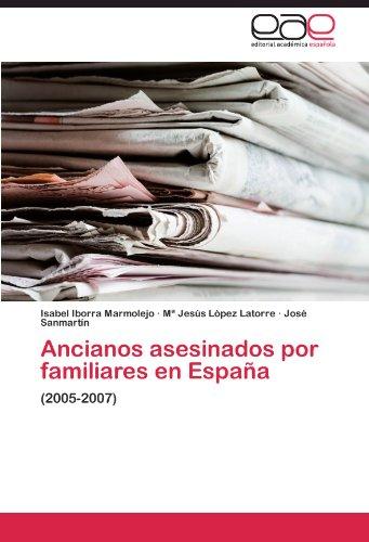 Ancianos asesinados por familiares en España