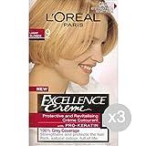 Set 3 EXCELLENCE Blonde 9 Ch / Ssimo Dye Und Haarfarbe