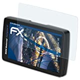 atFoliX Panzerfolie für BMW Navigator VI Folie - 3 x FX-Shock-Clear stoßabsorbierende ultraklare Displayschutzfolie
