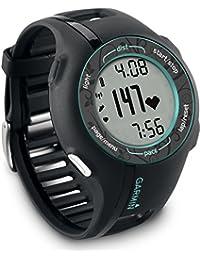 Garmin Forerunner 210 HRM - Reloj GPS para fitness con pulsómetro (incluye monitor de frecuencia cardiaca), color gris