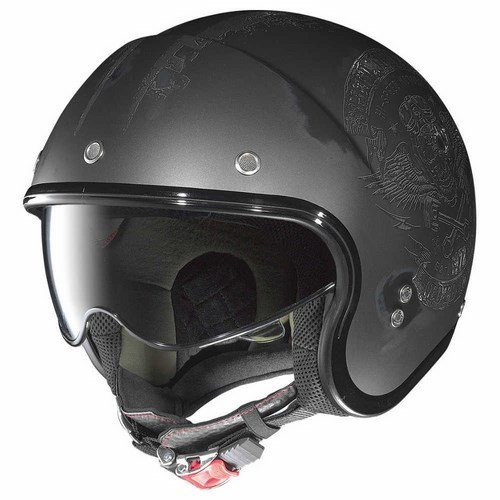 Nolan N21 Jethelm Speed Junkies matt-lavagrau/schwarz XXS - Motorradhelm