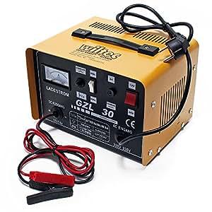 wiltec chargeur 16a de batterie moto voiture auto rapide gzl30 batteries 12v et 24v. Black Bedroom Furniture Sets. Home Design Ideas