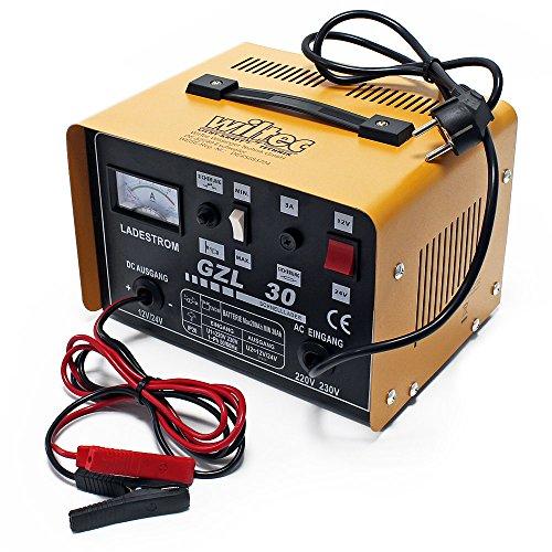 Caricabatteria WilTec Batterie 12V 24V 16A WBL-GZL30