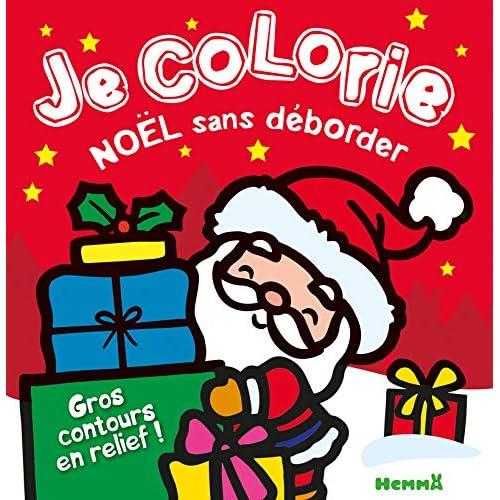 Je colorie Noël sans déborder
