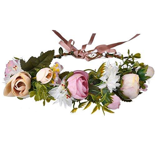AdorabFitting Girlande garland girlande guder kranz gudelj grunwald Kinder schön Hochzeit Blumenmädchen Mädchen Prinzessin Krone Leistung