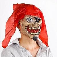 DZW COS Víspera de Todos los Santos Personas enteras juguete máscara terror diablo pirata Zombi máscara