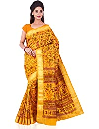 [Sponsored Products]Roopkala Silks & Sarees Silk Saree (Ds-289_Mustard)