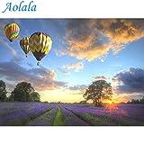 Aolala Minion Balloon DIY Malen nach Zahlen Hochzeit Dekoration Handgemalt auf Leinwand Einzigartiges Geschenk für Wohnzimmer Artwork,50X65cm