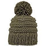 Barts Damen Baskenmütze Jasmin, Grün (Army), One Size (Herstellergröße: Unica)