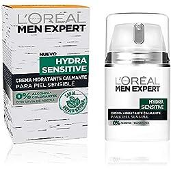 L'Oréal Paris Men Expert Crema de día para hombre Hydra Sensitive (piel sensible) - 50 ml