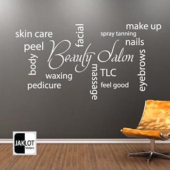 iClobber Beauty Salon Collage Spray Tan Nail Polish Wall