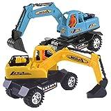 Mamum Bagger Spielzeugauto Modell Bildungs-Spielzeug LKW Fahrzeugmodell 1 PC Auto-Modell Kinder Spielzeug Bagger LKW LKW
