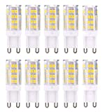 G9 Ampoule LED 5W Equivalent 40W Halogène Blanc Chaud 3000K 420lm AC 220V-240V 360...