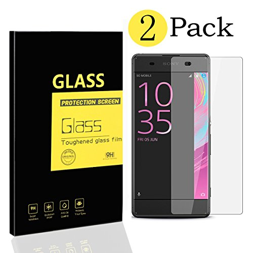 2-pack-sony-xperia-xa-screen-protectors-menggood-tempered-glass-protective-films-invisible-transpare