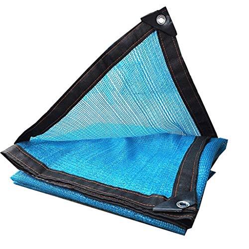 Filet d'ombrage, auvents, Filet au Soleil, écran de Protection Solaire, voiles de bâche de Tente de Tente pour auvents, Convient à la Protection Anti-UV, de Multiples Tailles possibles, Bleu