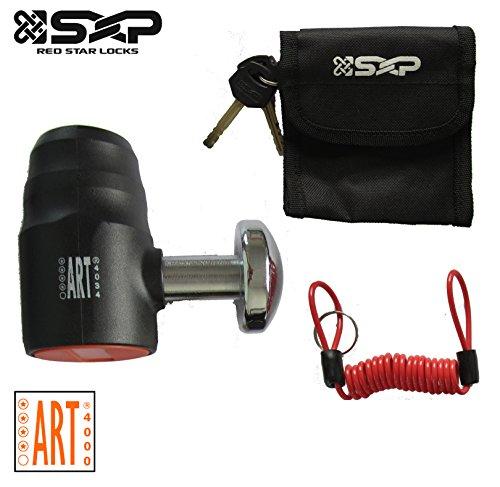 SXP Bremsscheibenschloss Bremsscheiben Motorrad Locker Schloß Motorradschloss Rollerschloss ø16mm
