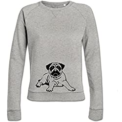 Sudadera de mujer Pugs Dog by Shirtcity