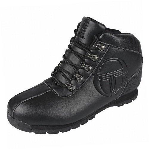 Sergio Tacchini - Chaussures montantes garçons décontracté mode noir Noir