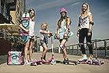 HUDORA Mini Skateboard Mädchen XXS Skate Wonders, 12036