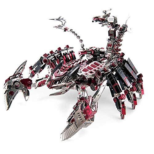 Schlacht der Anführer - Red Devils Metall montiert Spielzeug DIY Kinder Geschenk kreative manuelle Modell 3D Laser Cut Geschenk / Multicolor + Tools B / one Size