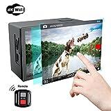 Action Kamera, Campark X20 4K Action Cam 20MP SONY Sensor WIFI Sports Helmkamera Dual LCD Touchscreen Unterwasserkamera Wasserdicht, mit Fernbedienung, EIS und kostenlose Accessoires
