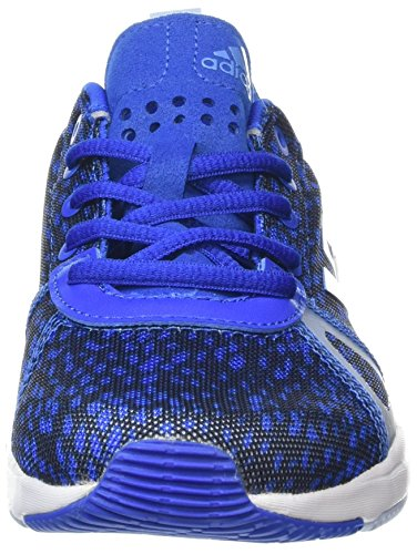 adidas Arianna Cloudfoam, Scarpe Sportive Indoor Donna Blu (Blue/tech Blue Metallic/easy Blue)