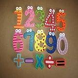 litalily-Matematica di numeri magnetici in legno Set di giocattoli educativi digitali per bambini (multicolore)