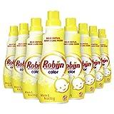 Robijn Klein & Krachtig Zwitsal Vloeibaar Wasmiddel 8 x 21 wasbeurten - 8 x 735 ml Voordeelverpakking