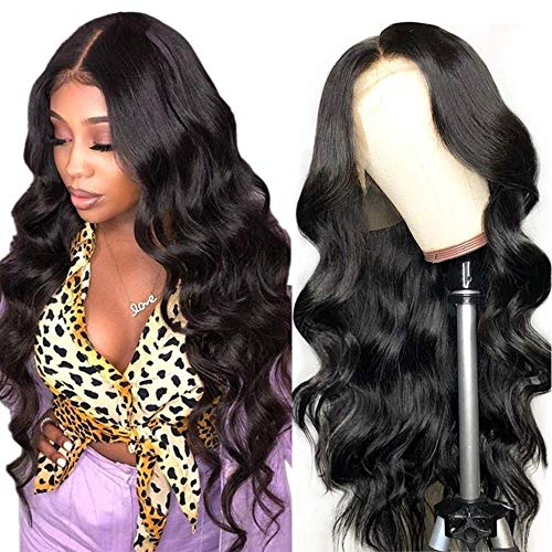 Echte brasilianische Haarperücke für schwarze Frauen natürliches lockiges Haar 360 spitzefront perücke 360 lace front wig human hair real brazilian curly hair 24inch/60cm -