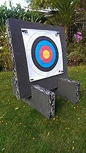 ASD Cible de tir à l'arc en mousse avec pieds 60cm x 60cm