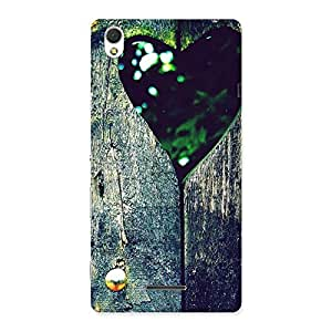 Premium Wooden Vintage Print Back Case Cover for Sony Xperia T3