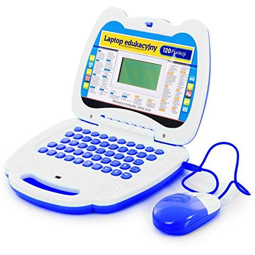 Lernspielzeug Kinder Computer KP5838 Laptop Spielzeug INTERAKTIV (KP5838BLU)