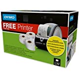 Dymo 1896042 Labelwriter 450 with Assorted Label - Black, Roll of 3