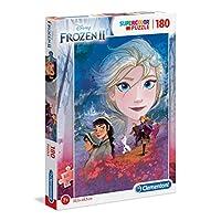 Clementoni-29768-Clementoni-29768-Supercolor-Disney-Frozen-2-180-Teile-Puzzle-fr-Kinder-Mehrfarben Clementoni 29768 Clementoni-29768-Supercolor Disney Frozen 2-180 Teile, Puzzle für Kinder, Mehrfarben -