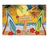 Boland–Beach Party Einladungen, Mehrfarbig, 52473