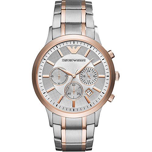 Emporio Armani AR11077 Men's Trendy Chronograph Look Watch